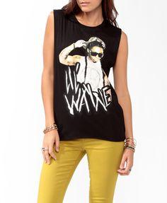 Lil Wayne Muscle Tee  $15.80