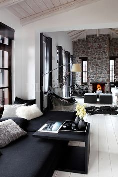 contemporary elegant living room