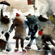 Watercolor paintings by Sue Howells by Idan