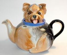 'Yorkshire Terrier' Dog Teapot