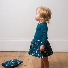 We've been getting a few exciting parcels over the last week!!...and this Moons & Stars dress by @littlegreenradicals is one of my favourites!..who says blue is only for boys... #cantwaittolaunch #excitingtimes #notlongnow #moonandstars #littlegreenradicals #toddlerfashion #toddlerstyle #pepsandpooks #openingsoon