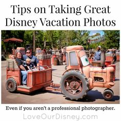 How to take great Disney vacation (or any vacation) photos. LoveOurDisney.com #vacation #Disney #Travel #photography #tips