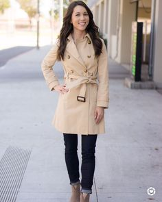 Walking into the weekend smiling because some of my favorite items are on sale! Trench coat fall ankle booties wool coat tees lace and more! Head over to see more Fit Reviews and my recommendations to shop these sales intentionally! http://liketk.it/2sYgg #liketkit @liketoknow.it #trenchcoat #jcrew #jcrewalways #vincecamuto #petitefashion #ltkunder100