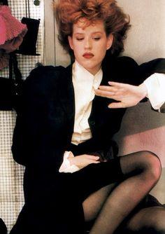 Molly Ringwald 80s fashion