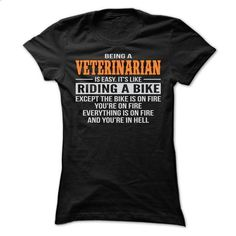 BEING A VETERINARIAN T SHIRTS - #shirt cutting #tee verpackung. PURCHASE NOW => https://www.sunfrog.com/Geek-Tech/BEING-A-VETERINARIAN-T-SHIRTS-Ladies.html?68278