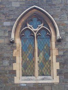 Gothic arch window