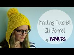 KNITTING TUTORIAL - SKI BONNET, My Crafts and DIY Projects