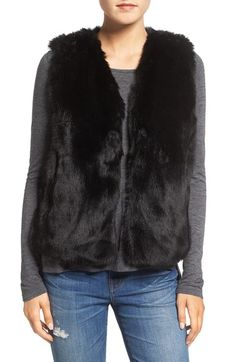 Madewell Faux Fur Vest available at #Nordstrom