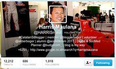 @Harrismaul Twitter Header Image, My Way, Digital