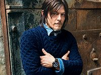 Norman Reedus' Long Walk: GQ Cover Story October 2014: Celebrities: GQ The Walking Dead
