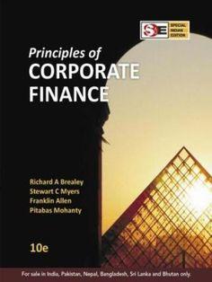 PRINCIPLE OF CORPORATE FINANCE