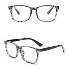 3d0c44fa1f Outeye Square Frame Glasses Framing Materials