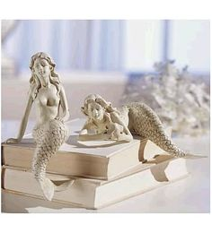 Mermaid Figurines Set of 2