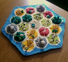 I just spent the last two weeks crocheting a Catan... | Hound & Tooth