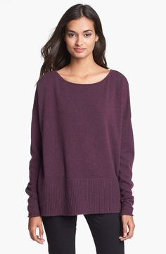 Comfy Purple Sweater.