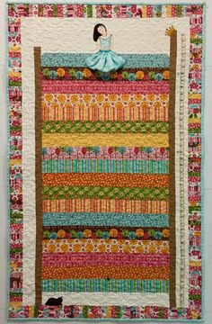 Princess and the Pea Growth Chart Kit - Cary Quilting Company's original pattern for Quilt! Carolina
