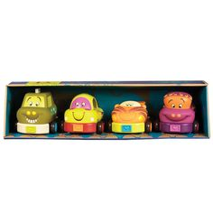 B. Toys Wheeeee-ls Pack Of Four Cars £19.99