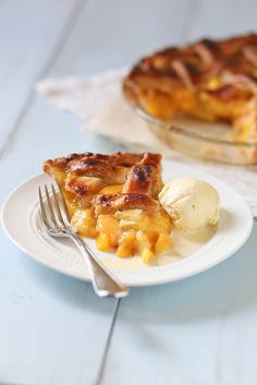 When summer peaches are ripe and juicy, they don't need a whole lot else to make a fantastic pie.