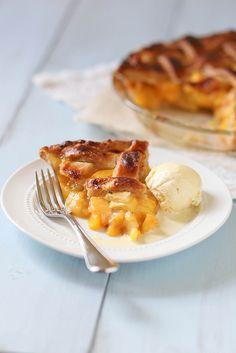 Peach Pie by annieseats, via Flickr