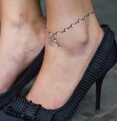Bracelet ankle tattoo photo | Tattoo Blog - atattoo