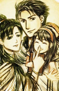 Hector, Lyn, and Lilina (Fire Emblem)