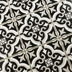 Merola Tile Braga Classic 7-3/4 in. x 7-3/4 in. Ceramic Floor and Wall Tile (10.76 sq. ft. / case)-FTC8BRCL - The Home Depot