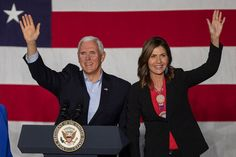 How Kristi Noem Mt. Rushmore and Trump Fueled Speculation About Pences Job
