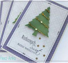 Kartka świąteczna z choinką 7