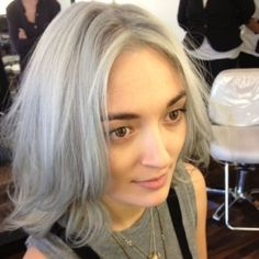 gray hair trend - Hair Color How To: Celebrity Colorist Aura Friedman Shares Gray Hair Color Formula and Tips | The Colorist