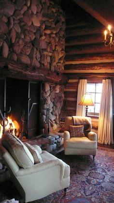Beautiful comfy cabin.