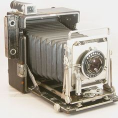 Vintage Crown Graphic 4x5 Press Camera With 135mm by BrassLens, $125.00