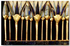 *TREASURES of TUTANKHAMUN ~ Egyptian Museum, Cario, Egypt - considering getting a simple Egyptian Blue Lotus tattooed on my left ear lobe.