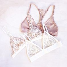 Special Edition Lace Triangle Bralette