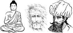 Jezus en Mohammed konden er ook niets aan doen dat zij de oorzaak zijn van duizenden jaren oorlog en Boeddha niet.