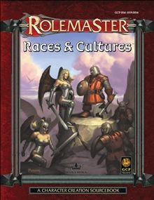 Races and Cultures for Rolemaster Fantasy Role Playing (RMFRP) RPG from Iron Crown Enterprises.