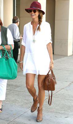 Stacy Keibler, con el mejor 'look' de 'street style' del mes #holafashion