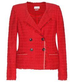 Flenn red tweed jacket