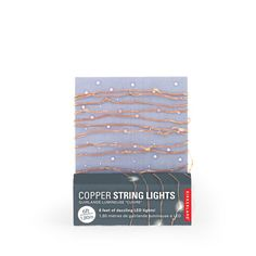 Buy the Copper String Lights at Oliver Bonas. Enjoy free UK standard delivery for orders over £50.