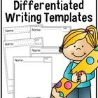 FREEBIE Kindergarten Writing Templates