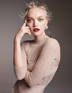 Photography: Georges Antoni Styled by: Rachel Wayman Hair: Renya Xydis Makeup: Victoria Baron Model: Gemma Ward