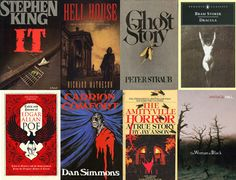 The 50 Scariest Books of All Time....why is Stephen King ALWAYS at the top? He's not even that good.