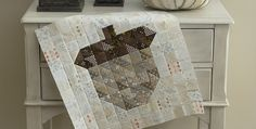 Use This Pretty Block in Any Number of Projects! Create a beautiful acorn block in your favorite autumn colors for a lovely fall accent piece. Make it into a pillow or a small wall hanging. Four acorns in a square would make a pretty table topper, or string a few together for a runner. We …