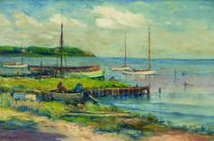 A Quite Day On The Coast - Charles Appel