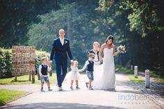 Bruidsfotografie Ulvenhout trouwen met kinderen