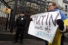 Ukraine Tells Russia Invasion Means War - BLOOMBERG #Ukraine, #Russia, #War