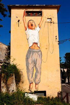 Ernest Zacharevic.. . #streetart