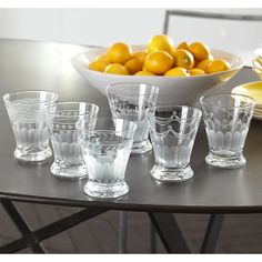 Wisteria - Accessories - Shop by Category - Tabletop -  Handmade Cocktail Glasses - Set of 6 - $39.00