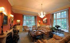 Michael Winner's lounge