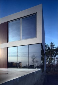 Aatrial House, Opole, Poland by KWK Promes Architects