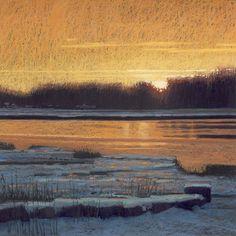 Liz Haywood-Sullivan | Daybreak (pastel)